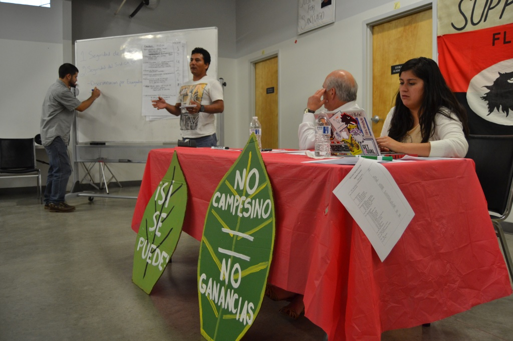 FLOC union members and staff preparing for contract negotiations